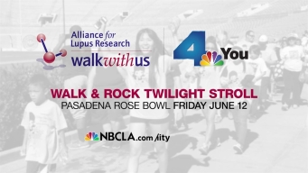 Join NBC4 in Pasadena at Walk with Us to Cure Lupus Walk