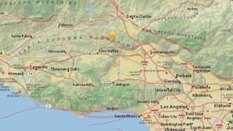 Magnitude-3.3 Quake Shakes Valencia Area