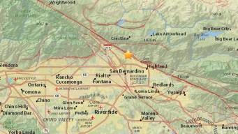 Preliminary 3.2-Magnitude Quake Hits San Bernardino Area