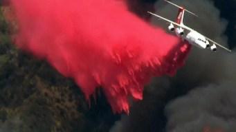 Fires Scorch San Gabriel Mountains