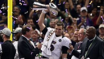 Joe Flacco Finishes the Job