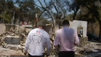Neighbors Begin Picking Up Pieces in Wake of Sand Fire