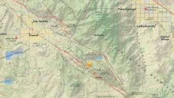 3.0-Magnitude Quake Rattles Idyllwild