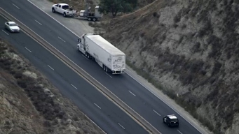 Stolen Big Rig Pursuit Ends in Arrest