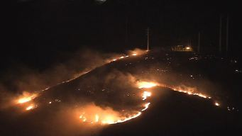 Firefighters Gain Ground on Porter Ranch Brush Fire