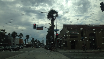 Rain, Chance of Thunderstorms in SoCal