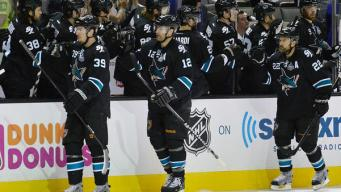 Sharks Knock Off Kings in OT