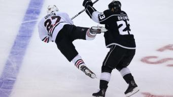 Despite Late Push, Kings Down Blackhawks in Game 3