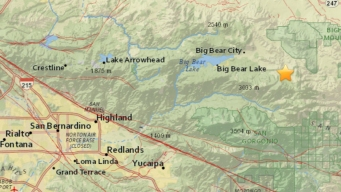 Preliminary 3.6-Magnitude Earthquake Hits Big Bear