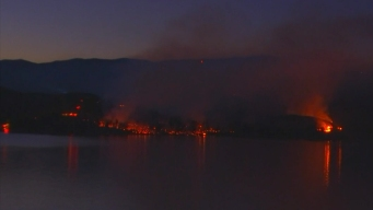 Castaic Lake Wildfire Scorches 800 Acres