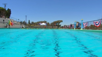 World War II-Era Pool Reopens in San Pedro
