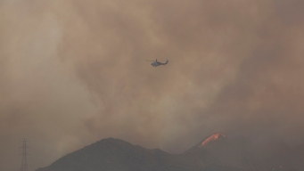 Rye Fire 93 Percent Contained After Burning Over 6K Acres