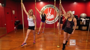Break a Sweat with Pole Dancing