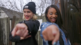 Ashley Raps With One of Hip Hop's Youngest Stars
