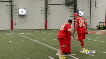 Travis Kelce Shows Johnny Bananas Why He's The Best Tight End in Football