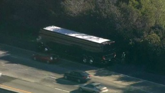 Officer Injured as 3 Broncos Buses Collide in Bay Area
