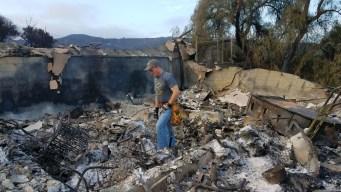 Most La Tuna Fire Evacuees Return Home