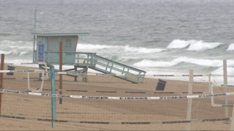 LA County Issues Beach Warning During SoCal Downpour