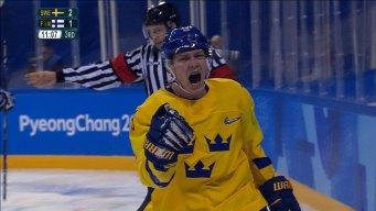 Patrik Zackrisson Pokes Home Game-Winner for Sweden
