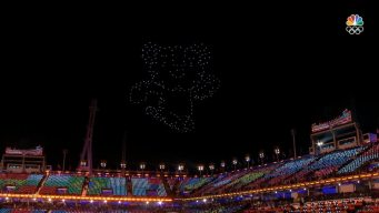 Drones Shine in the Closing Ceremony for the 2018 Games