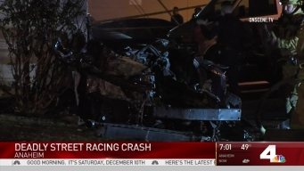 2 Killed in Street Racing Crash in Anahiem