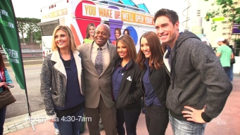 NBC4's Today in LA Team in the Community