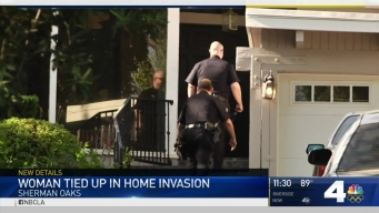 Thieves Tie Up Woman in Sherman Oaks Home Invasion Robbery