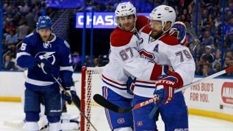 Canadiens Beat Lightning 6-2, Avoid Elimination