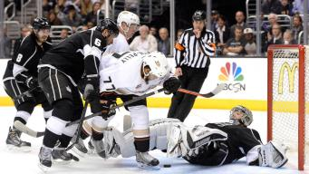 Perry Breaks Out as Ducks Sneak Past Kings