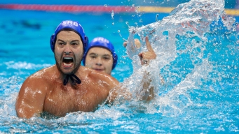 Serbia Wins Its 1st Men's Water Polo Gold