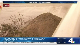 5 Freeway Remains Closed Due to Flooding