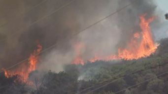Fire Scorches 20 Acres in Newhall