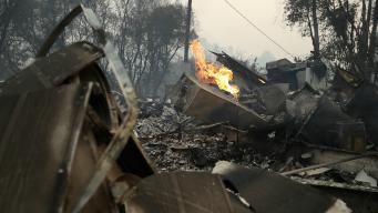 Wildfire Burning Near Yosemite Threatens 1,500 Structures