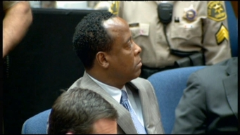 Raw Video: Conrad Murray Verdict Read in Court