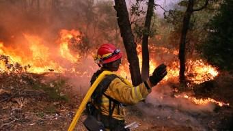 LA Helps Fight Fire Near Yosemite