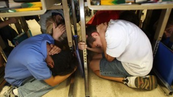 ShakeOut Earthquake Drill: Drop, Cover and Hold On