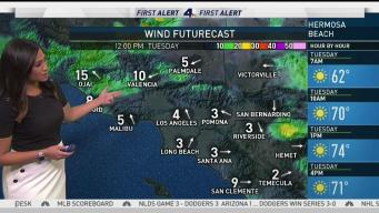 AM Forecast: Onshore Winds Will Change Pattern