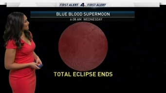 AM Forecast: Blue Blood Supermoon Coming Soon