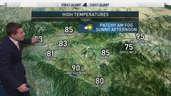AM Forecast: Cooler Temperatures on the Horizon