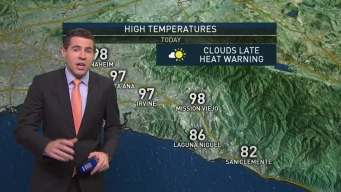 AM Forecast: Excessive Heat Warnings in Effect