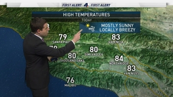 AM Forecast: First February Weekend to Be Warm