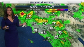 AM Forecast: First of May Showers