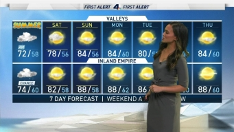 AM Forecast: Drizzle, Light Rain on First Day of Summer