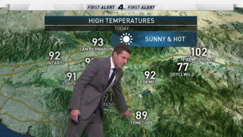 AM Forecast: High Temps Continue
