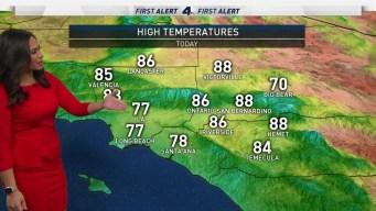 AM Forecast: High Temps Decreasing Through Weekend