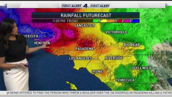 AM Forecast: Long Period of Rain Ahead