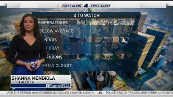 AM Forecast: May Gray With Below Average Temps