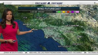 AM Forecast: Moving Jet Stream Makes Cool Winds