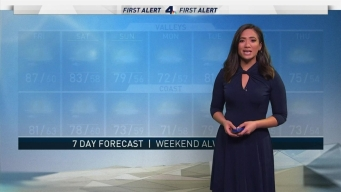 AM Forecast: Onshore Flow Will Cool Basin