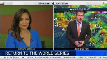 AM Forecast: Record Breaking Heat During Game 1